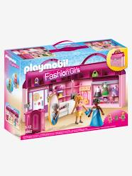 Jouet-Figurines et mondes imaginaires-Magasin transportable Playmobil Princess