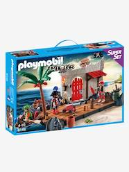 Jouet-Figurines et mondes imaginaires-Superset îlot des pirates Playmobil Pirates