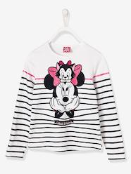 Fille-T-shirt, sous-pull-T-shirt fille Minnie® rayé